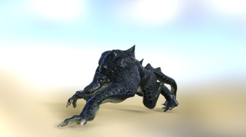 Test render of Snapper, pre-magitek body.